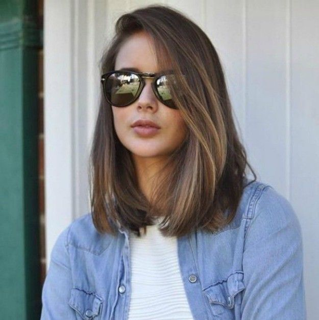 One-Lengths | Cool Medium To Long Hairstyles Perfect For Your Summer Makeup