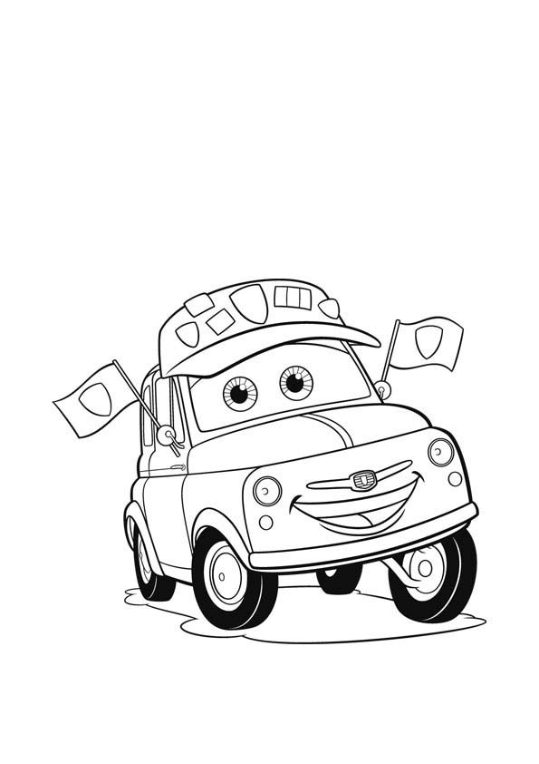 Disney cars coloring pages king mrs ~ 1000+ images about Kids Printables on Pinterest | Disney ...