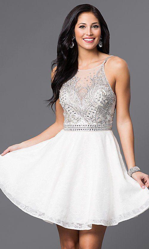 ea5336835e Jewel-Embellished JVN by Jovani Homecoming Dress