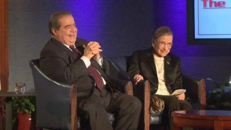 Polar opposites on the bench, Justices Antonin Scalia and Ruth Bader Ginsburg had a long, deep, an unexpected friendship.