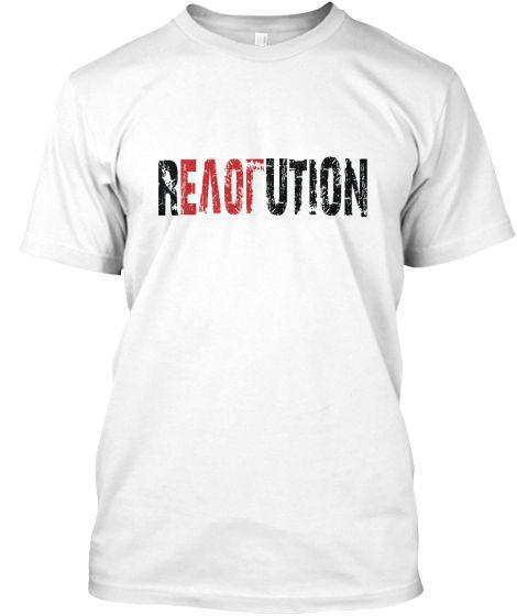 REVOLUTION Love Teesprin T-shirt white | Teespring