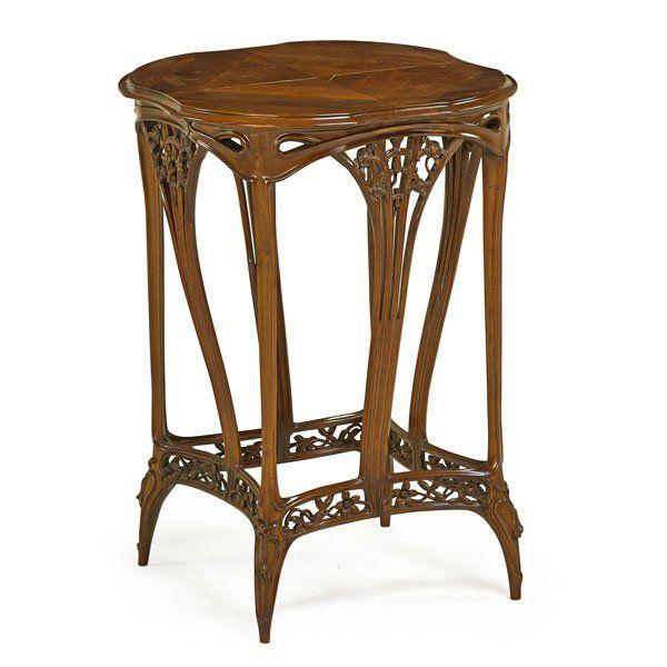 LOUIS MAJORELLE Art Nouveau table