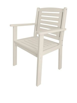 47% OFF Esschert Design USA Arm Chair, White