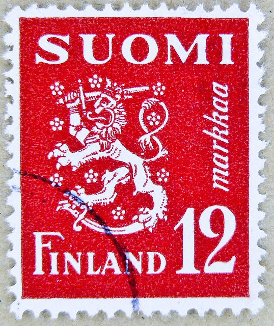 'Suomen Leijona', the Finnish lion, national symbol of Finland | Suomi/Finland