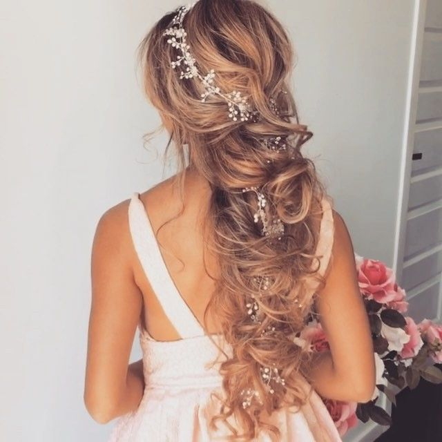 Wedding Hairstyle For Long Hair  : Instagram video by Ulyana Aster  May 12 2016 at 2:56pm UTC
