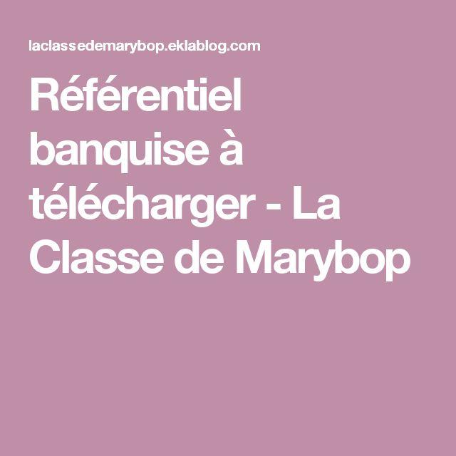 Référentiel banquise à télécharger - La Classe de Marybop