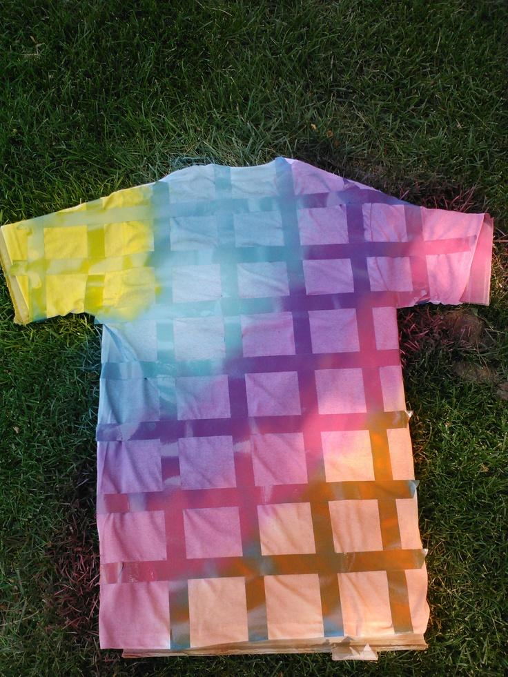 spray painted shirt | T-Shirt Madness - 340.3KB