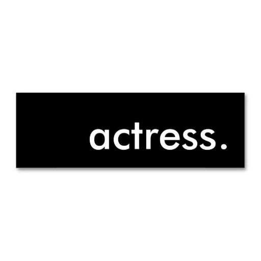 1000 images about Actor Actress Business Cards on