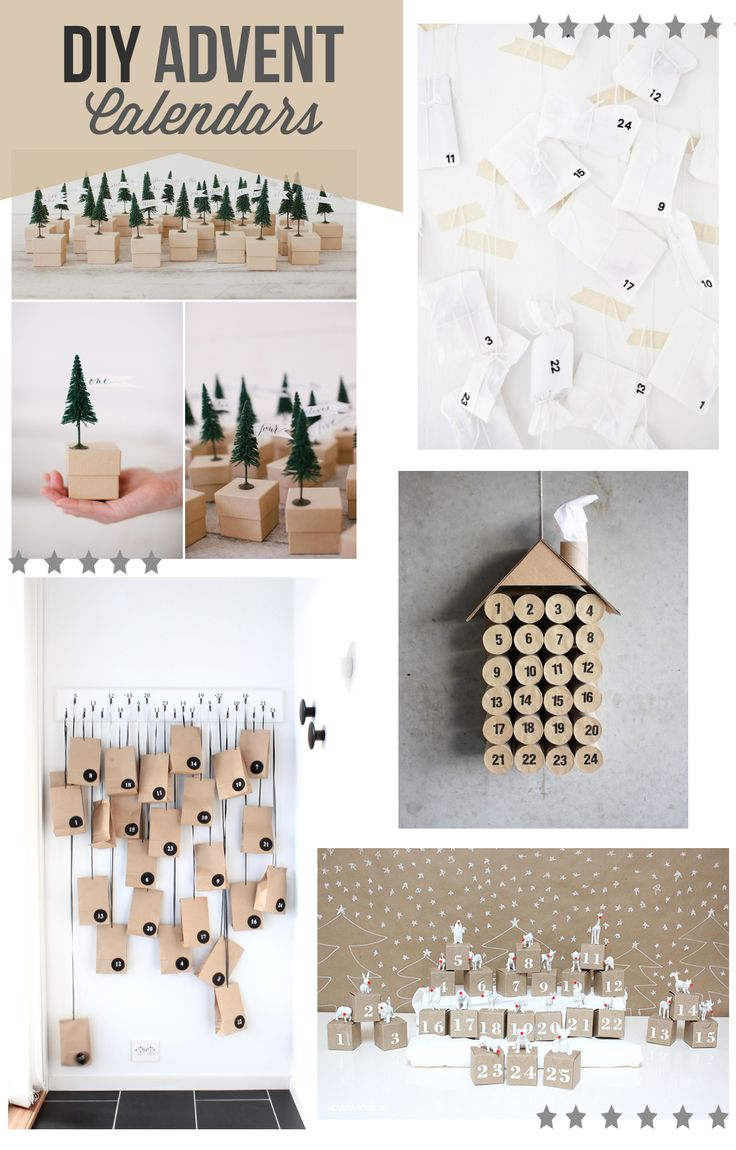 Calendar Advent Diy : Best images about advent calendars on pinterest make