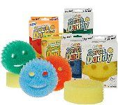Scrub Daddy's....love these sponges, pick them up at Bed,Bath & Beyond....they clean just about everything