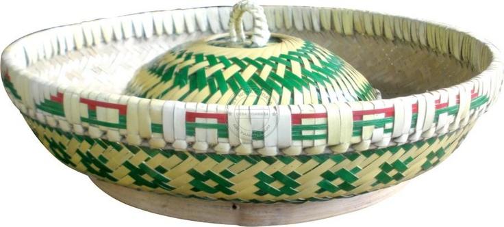 $10 Bokor - Keranjang Buah - fruit basket from bamboo