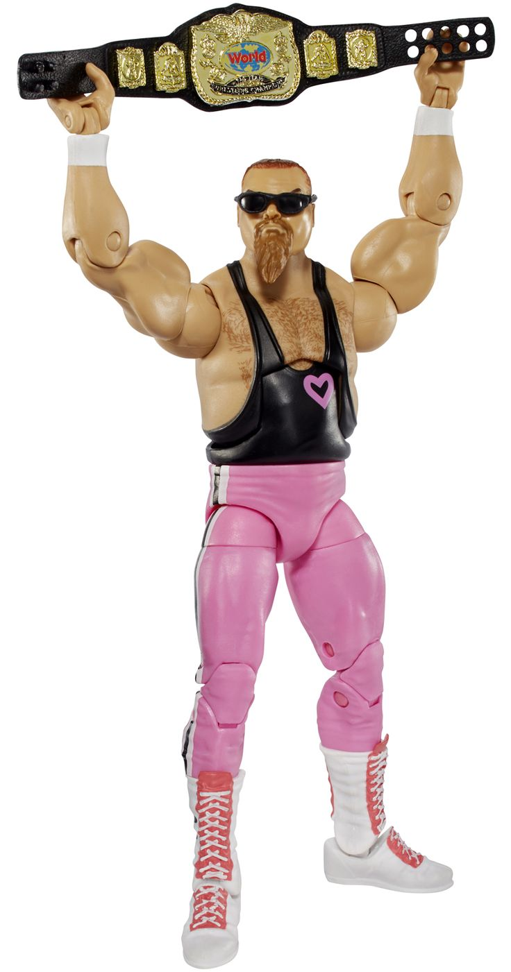 Jim Neidhart - WWE Elite 43 Toy Wrestling Action Figure