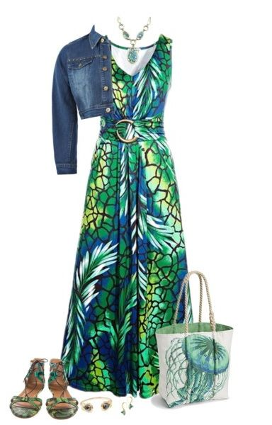Plus Size Maxi Dresses For Spring-Summer 2015 (10)
