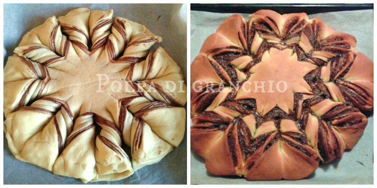 Polpa di granchio: Fiore di pan brioche alla nutella