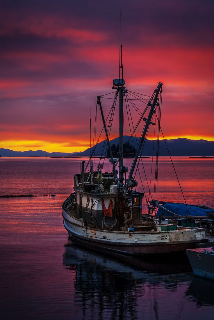 ~~The Journey to be | fishing boat at sunset, Ketchikan, Alaska | by Carlos Rojas~~