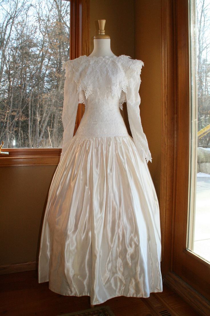 Vintage jessica mcclintock wedding formal dress ebay for Jessica mcclintock wedding dresses outlet