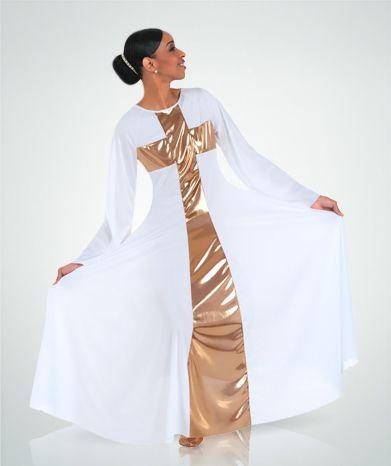 620 Cross Praise Dance Dress. $39.75