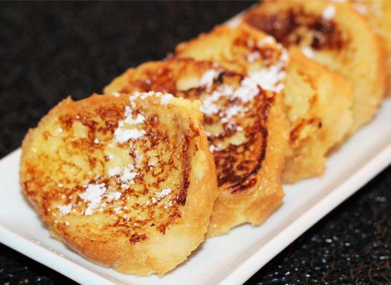 Petit déjeuner alternatif mais diététique : le pain perdu, version Evidiet.