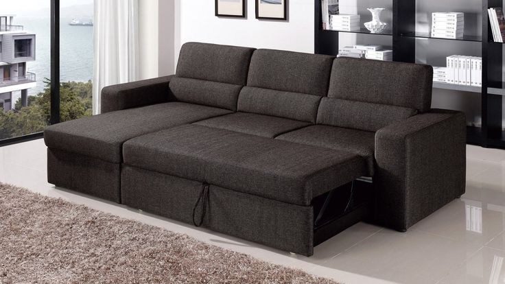 best 25 sectional sleeper sofa ideas only on pinterest Sectional Sofas with Sleeper Beds convertible sectional sleeper sofa with storage