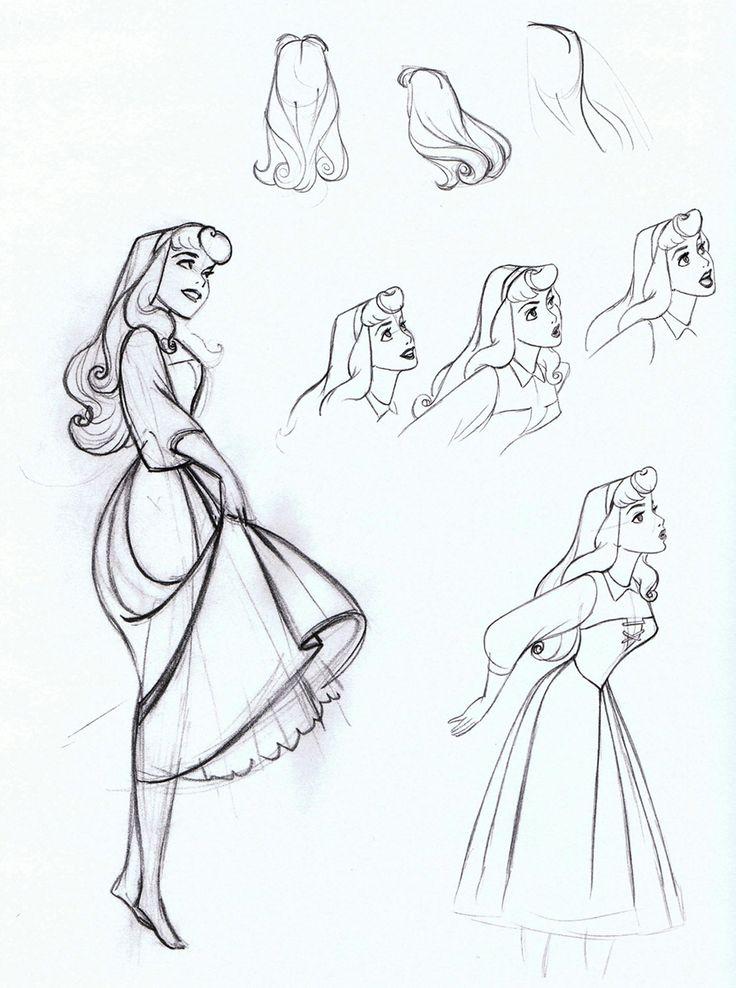 Sleeping Beauty (1959) - Production Drawings