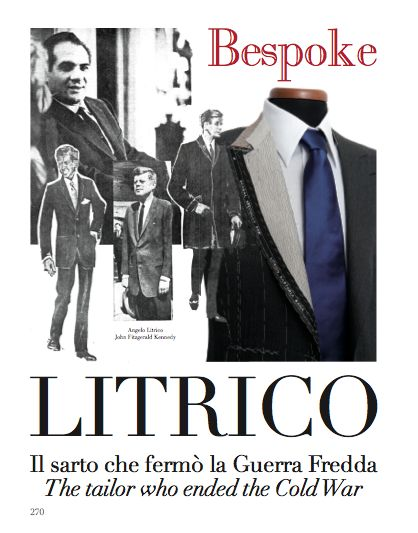 From our BESPOKE chapter, focus on Angelo Litrico. The tailor who ended the Cold War. #AngeloLitrico #tailor