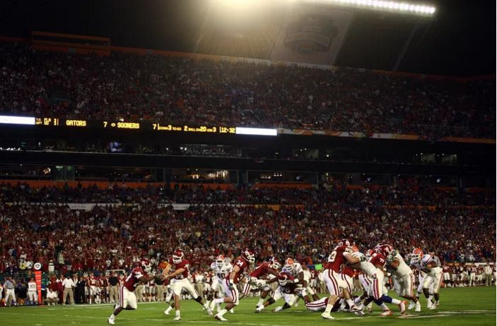 The 20 best college football matchups of all time