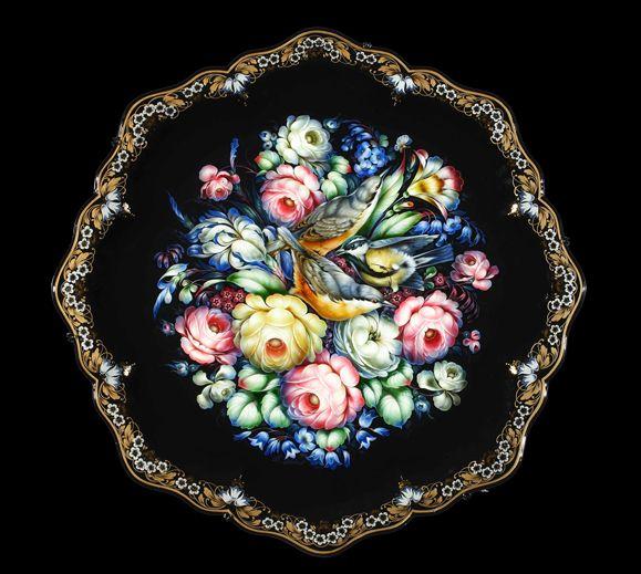 Кованые подносы :: Жостовская фабрика декоративной росписи