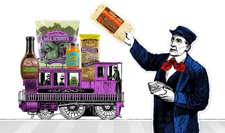 All Aboard! The Good Eating Express is heading into the station. February 2, 2015
