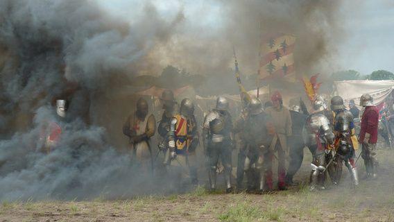 Ridders in battle