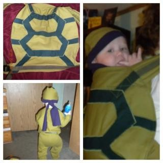 Costumes with baby carriers (how to make your own)