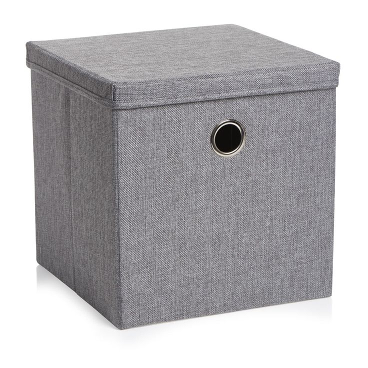 Wilko weave charcoal storage box (to go with oslo units) £5.00