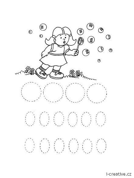 Grafomotorická cvičení k vytisknutí. Využijte také další grafomotorické listy a pracovní listy pro děti.           …