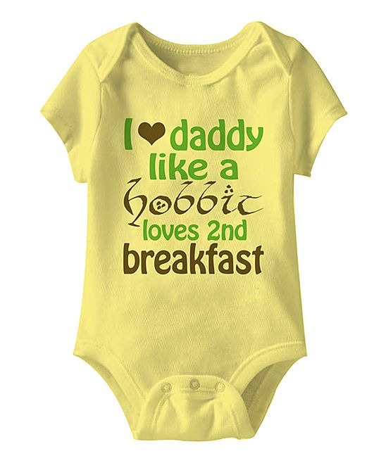 Urs Truly Banana 2nd Breakfast Bodysuit - Infant | zulily
