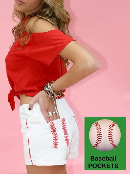 baseball shorts. I need to find a way to make them!: Basebal Shorts Diy, Glamslam Shorts, Basebal Games, Awesome Clothing, Baseball Seasons, Basebal Seasons, Products, Baseball Games, Baseball Shorts