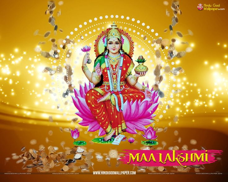 Maa Lakshmi Wallpaper HD Full Size Free Download
