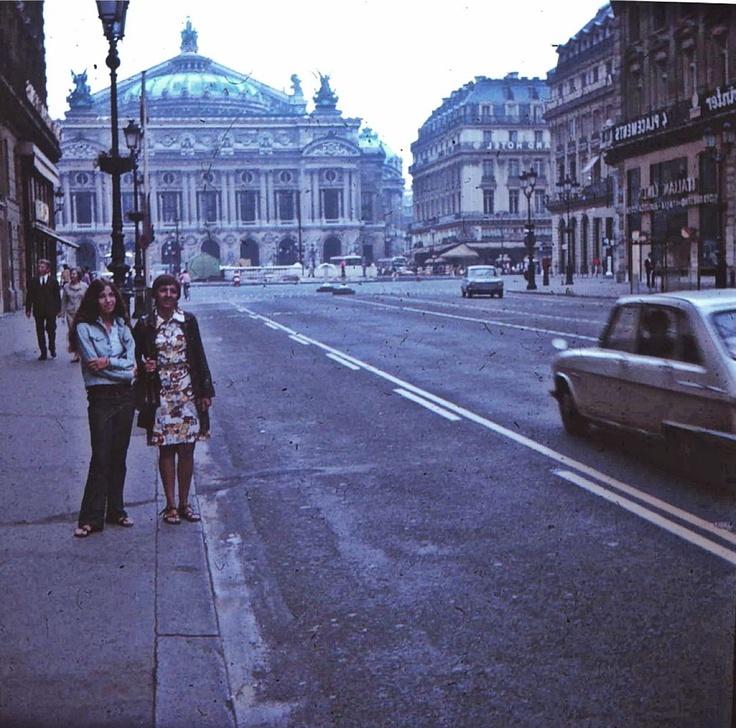 Palais Garnier (Opera House), Paris, 1972