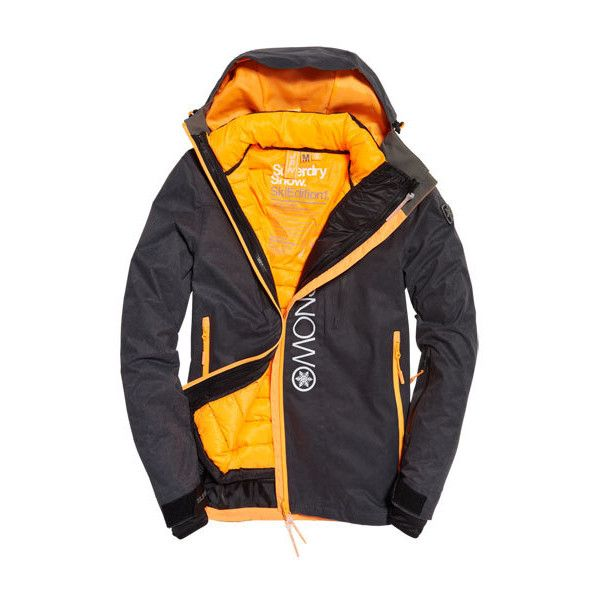 Superdry Super G Multi Jacket (17.120 RUB) ❤ liked on Polyvore featuring men's fashion, men's clothing, men's activewear, men's activewear jackets, dark grey and mens activewear