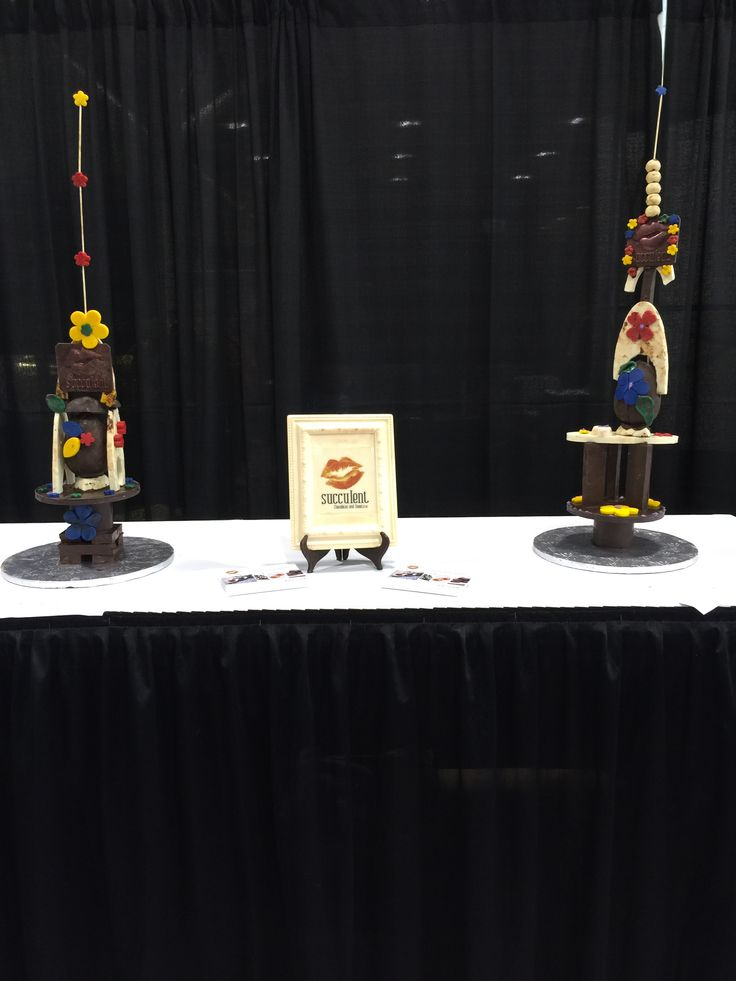 Chocolate sculpture challenge - Incentive Works 2015