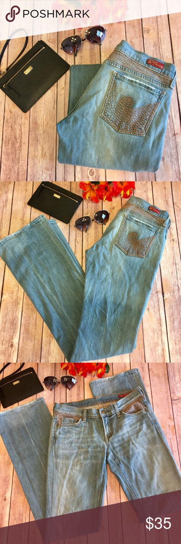 "🌴SALE🌴 Citizens Of Humanity Bootcut Light Jeans Super Cute And Stylish!!! Distressed Bootcut Citizens Of Humanity Jeans. Approx 34"" Inseam. Waist Is Approx 14"" Flat... Excellent Pre Loved Condition! Citizens Of Humanity Jeans Boot Cut"