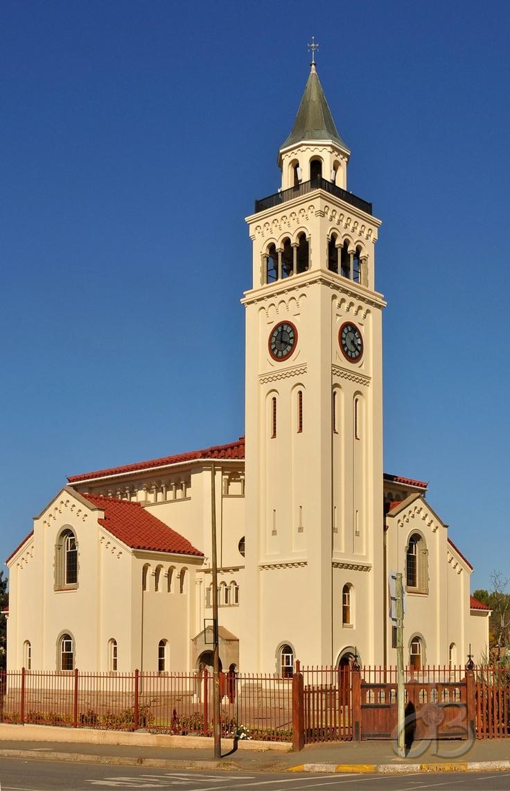 Dutch Reformed church of Aliwal North, Eastern Cape, South Africa. By #PhotoJdB