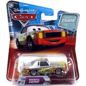 Disney / Pixar CARS Movie 1:55 Die Cast Car with Lenticular Eyes Series 2 Darrell Cartrip Metallic Finish Chase Piece! by Mattel. $9.99. Disney / Pixar CARS Movie 1:55 Die Cast Car with Lenticular Eyes Series 2 Darrell Cartrip Metallic Finish Chase Piece!