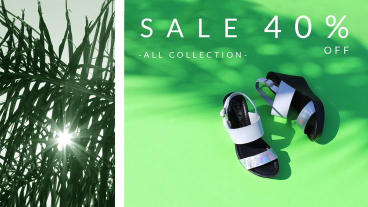 SECOND SALE || ALL FOOTWEAR COLLECTION WITH 40% OFF