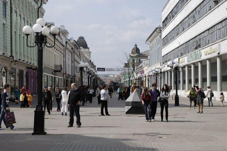 Улица Баумана - главная улица Казани - Казань. Фотографии достопримечательностей