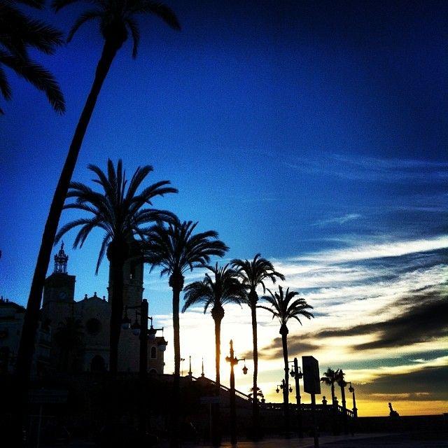 Autor: Jordi Lopez (@Djordilopez) Títol: bon dia #Sitges. Filtre Instagram: Lo-fi. Data de publicació a l'Eco de Sitges: 14 de Març de 2014. Secció #7