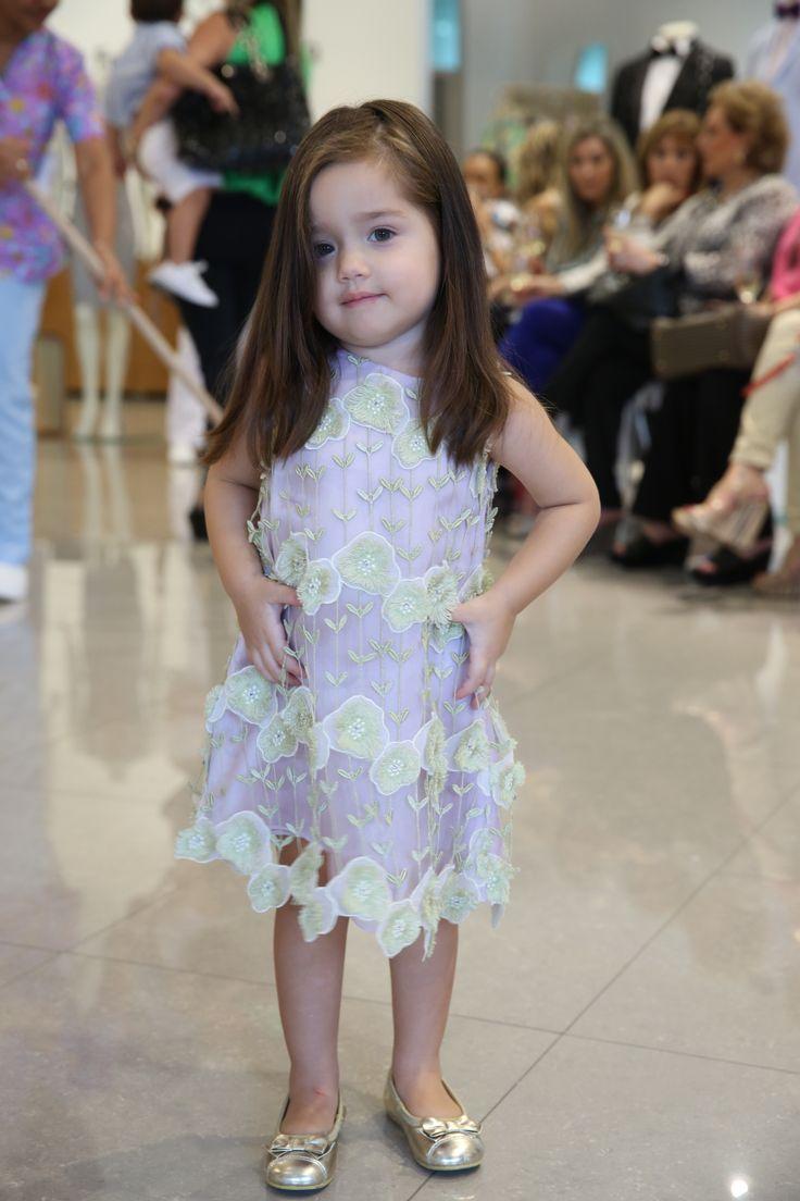 Victoria modeling for Francesca Miranda #ChildrensInspiration #FrancescaMiranda