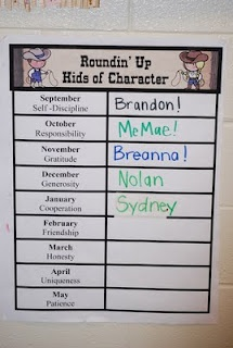recognize one student a month for good character: Classroom Fun, Teaching, Grant Kinderg, Character Traits, Classroom Setuporgan, Student Of The Months, Recogn, Organizations Classroom, Character Graph
