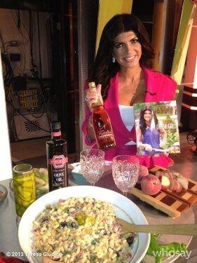 Teresa Giudice Home Tour | Teresa Giudice Debuts New 'Fabulicious' Cookbook: RHONJ Star Launches ...