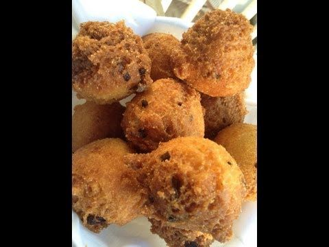http://www.ThrillbillyGourmet.com  - Hush Puppies, Hush Puppies Recipe, Recipe for Hush Puppies, How to Make Hush Puppies The best danged hush puppy you'll ever eat in your life - and that's a promise! Check out how fabulous a little deep fried love can be!