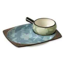 Pfaltzgraff Dishes | Patio Garden Snack Set Dishes | Butter Dishes And More
