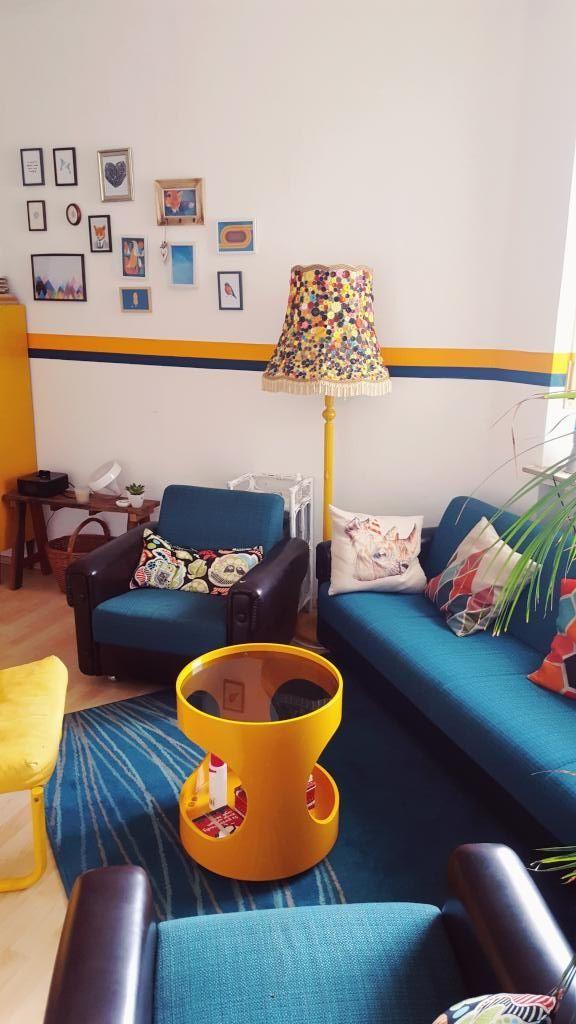 47 best makkie home images on Pinterest Wall paintings, Living - wohnzimmer ideen petrol